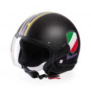 Casco Vespa V-Stripes Negro
